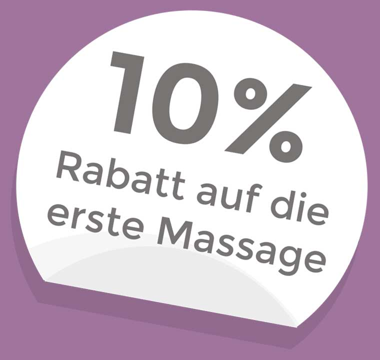 Rabatt Aktion auf alle Massagen - Bella Aloha Wellnessmassage-Salon in Gomadingen